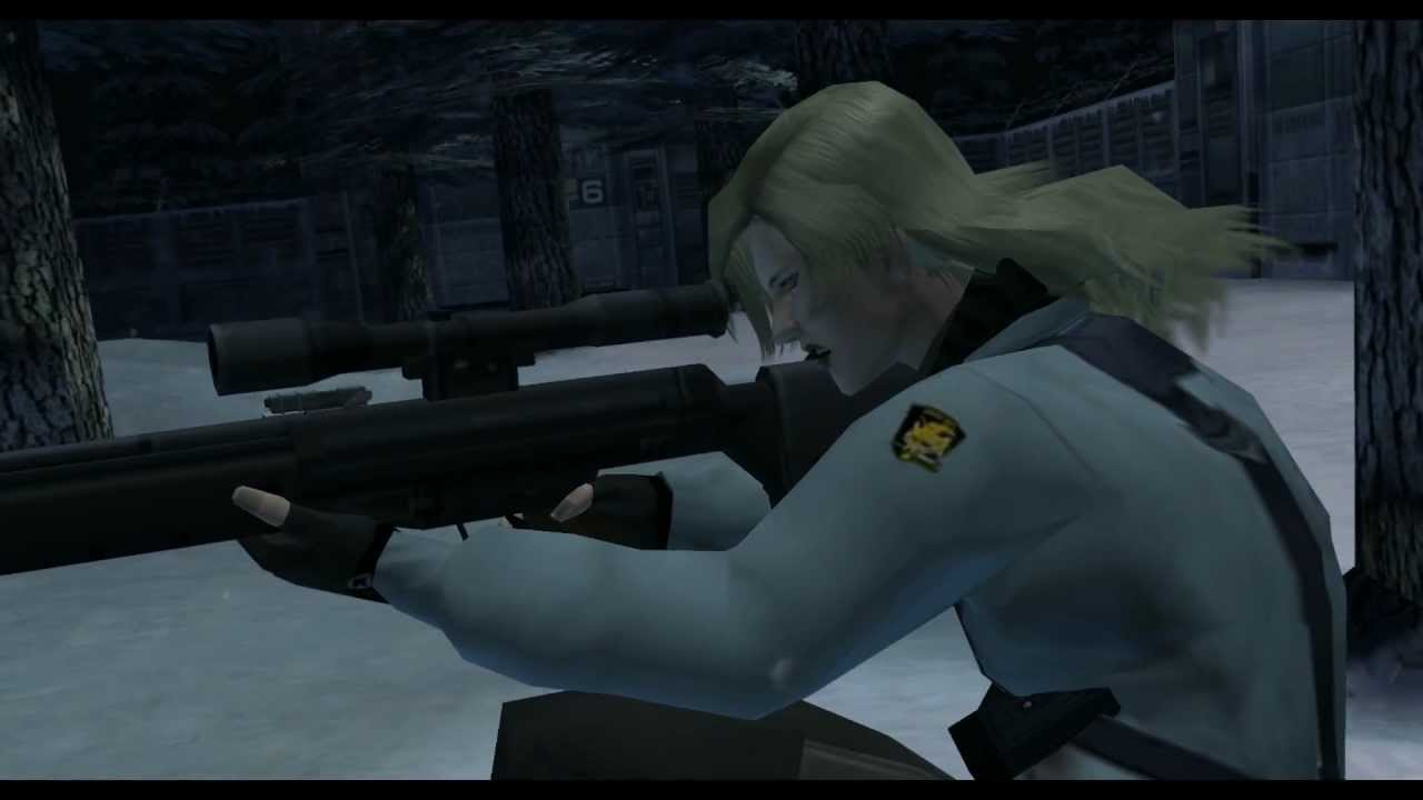 Mötet med Sniper Wolf (Metal Gear Solid: The Twin Snakes)