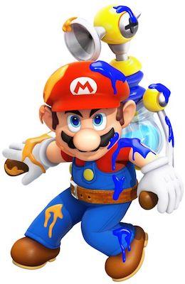 Mario med F.LU.D.D.