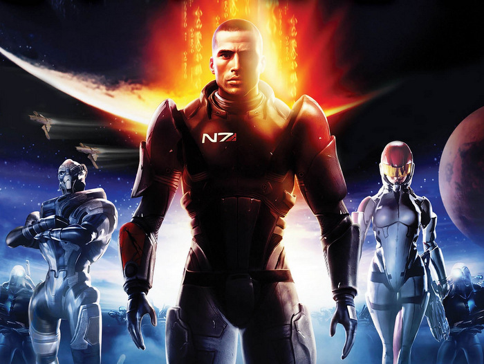 Tio år av Mass Effect