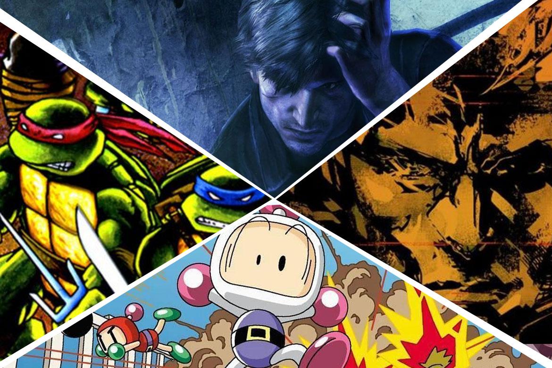Konamis 10 bästa spelserier