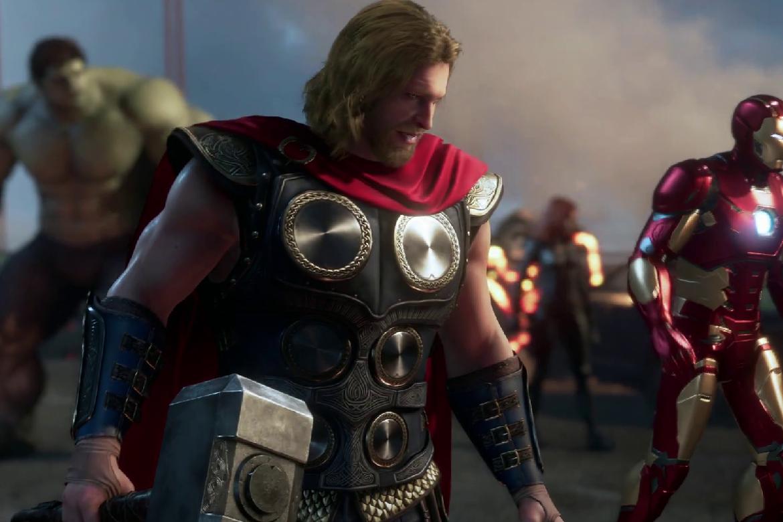 Se 18 minuter gameplay från Marvel's Avengers