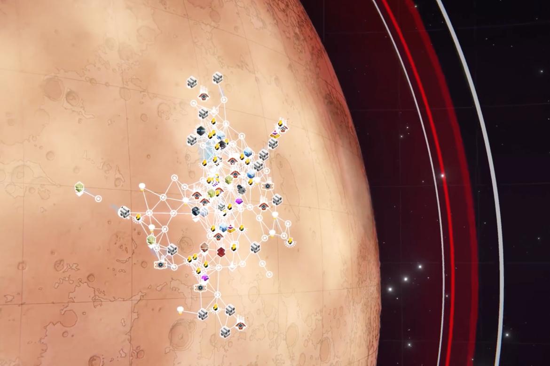 Ta över Mars i Per Aspera