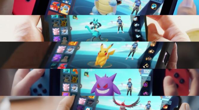 Samla kompisarna i Pokémon Unite