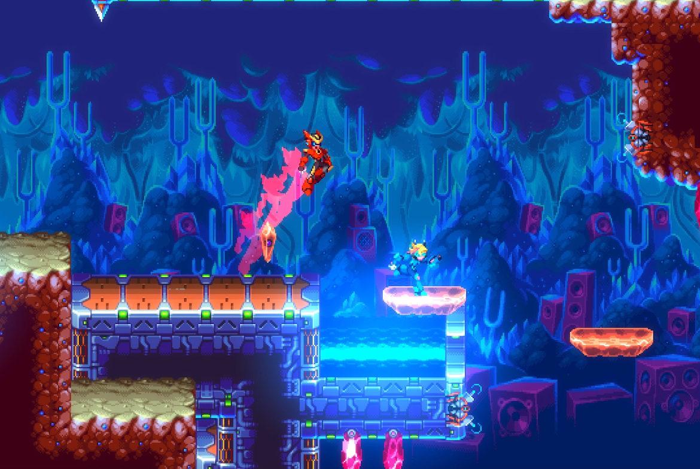 Mega Man-energin är stark i 30XX