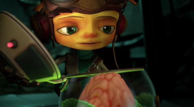 Jack Black tar ton i ny trailer för Psychonauts 2