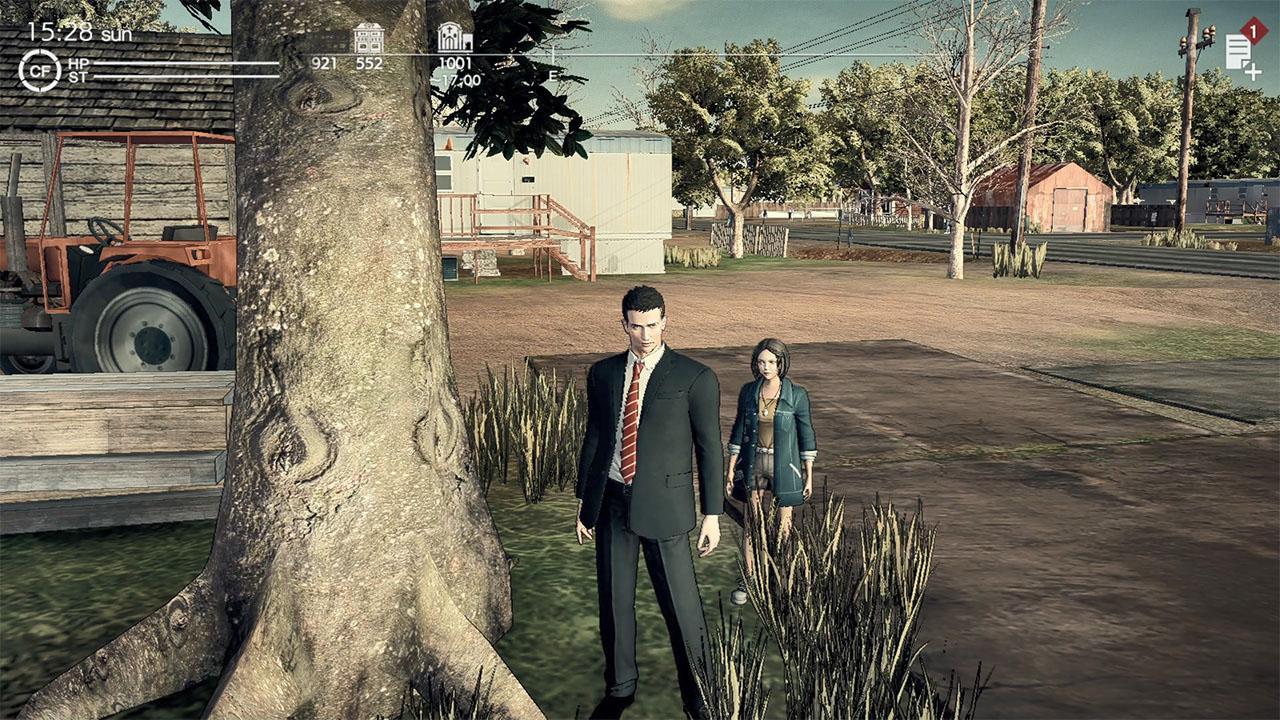 Agent Morgan med sin sidekick, Patti