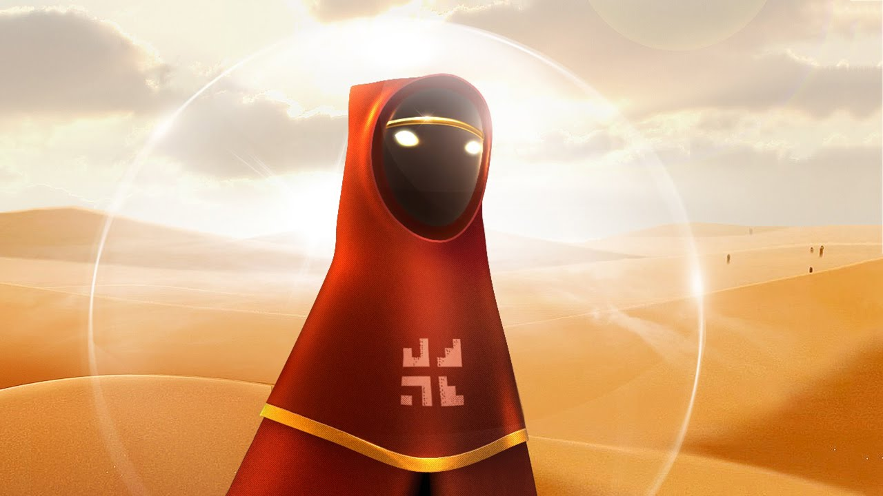 Journey är ett mästerverk i intuitiv speldesign