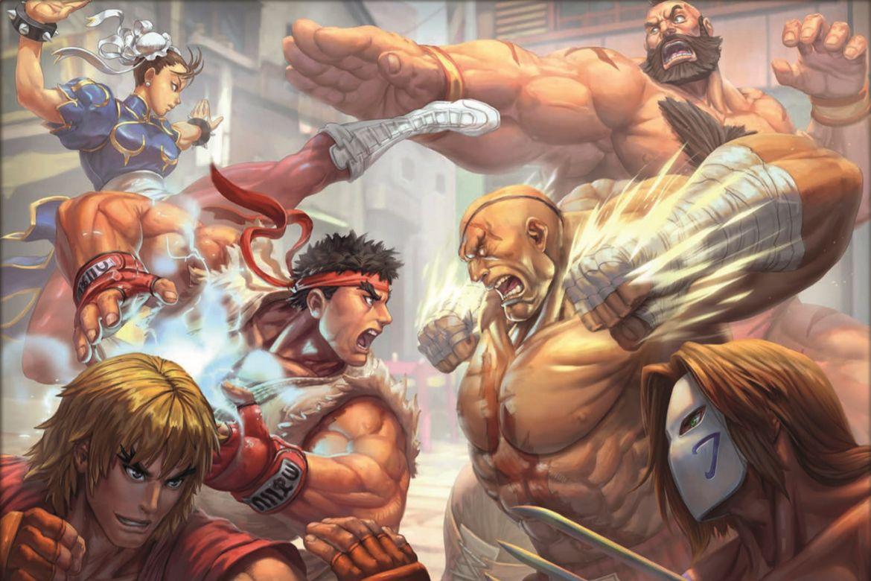 Street Fighter-brädspelet: det första spel jag backar på Kickstarter