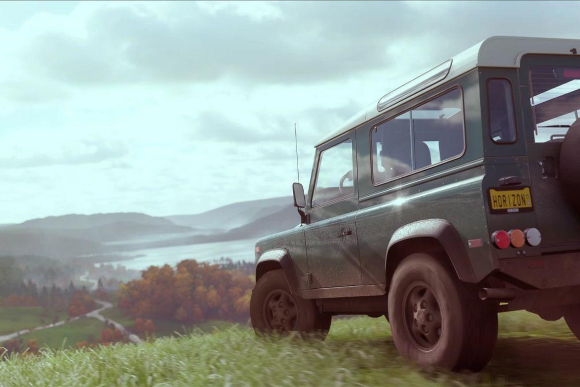 Britannia rules i Forza Horizon 4