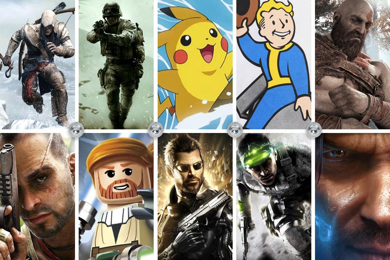 10 spelserier som jag aldrig har spelat