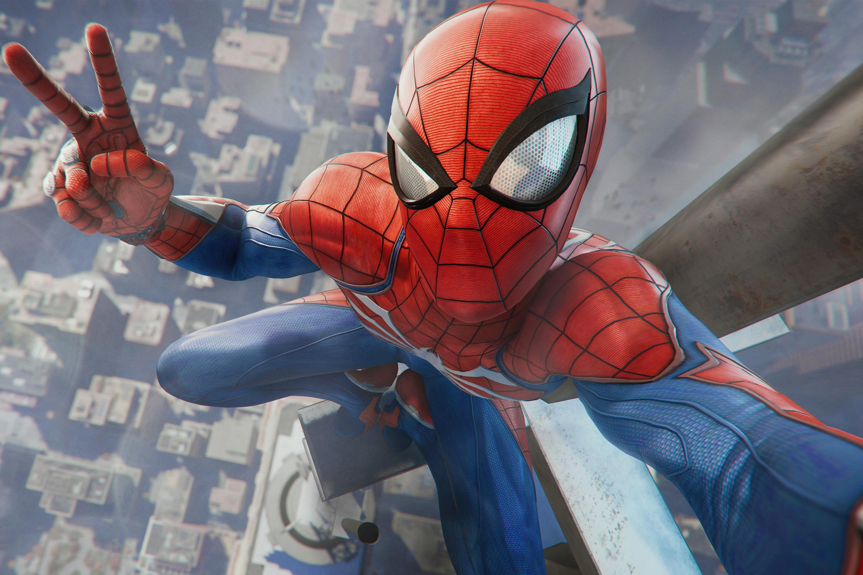 Speciella stunder: Jag är Spider-Man