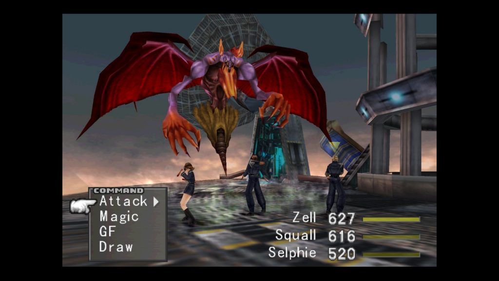 Final Fantasy VIII: Strid mot monstret Elvoret