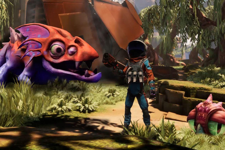 Humor och vackra färger i Journey to the Savage Planet