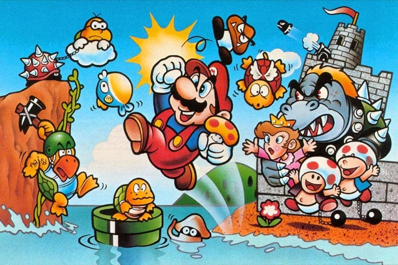 Speciella stunder: Super Mario Bros och Daniels fötter