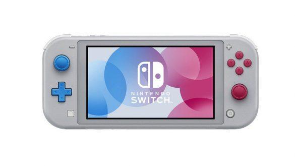 Första titten på Nintendo Switch Lite