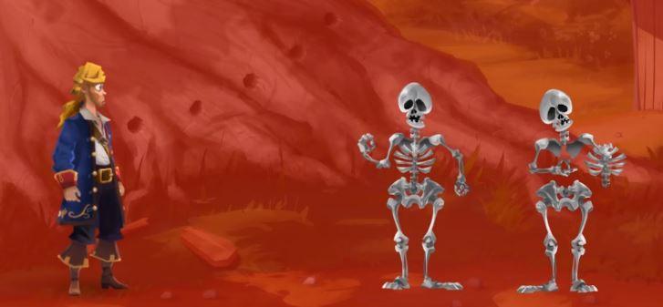 Skelettdansen