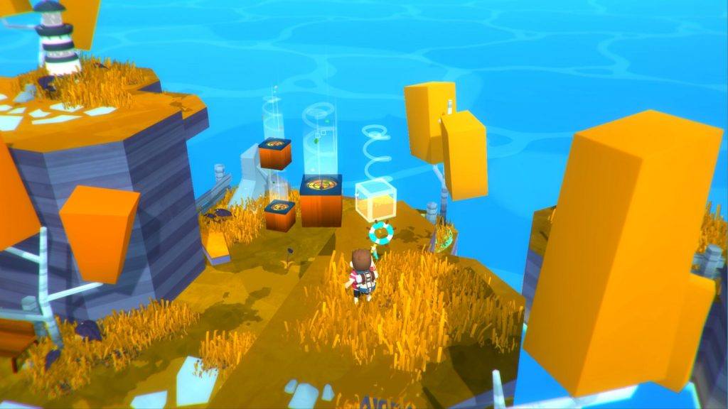 Pusselboxar i Solo: Islands of the Heart
