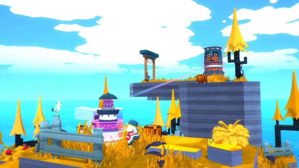 Totemdjur på en ö i spelet Solo: Islands of the Heart