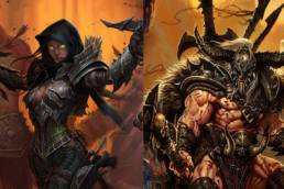 Demonhunter och Barbaren i Diablo III