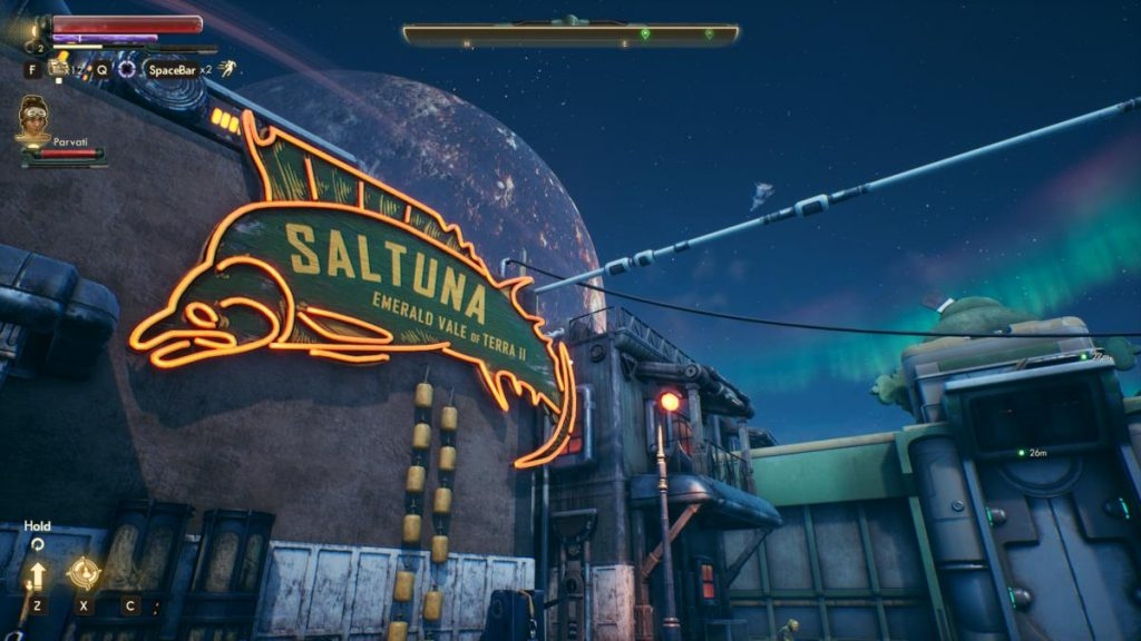 Saltunafabrik i The Outer Worlds