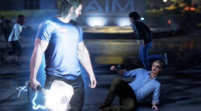 Blixtar och dunder i nytt gameplay från Marvel's Avengers