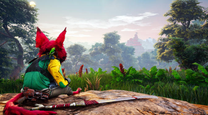 Actionpackad djupdykning i Biomutant