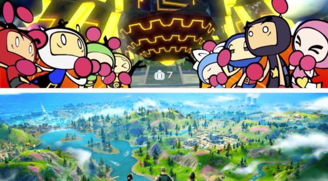 Battle royale och Bombermans delade DNA